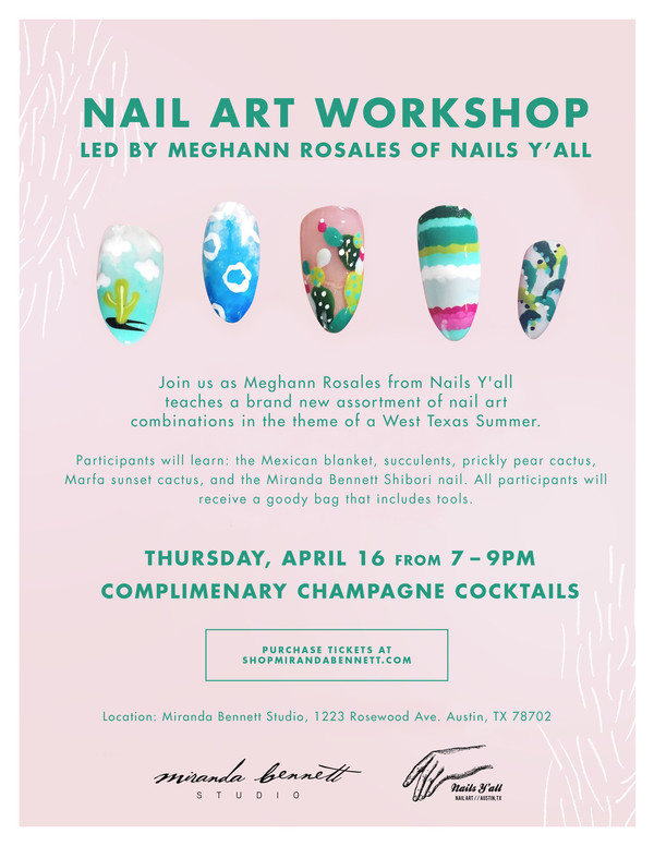 Workshop II : Nail Art with Nails Y'all