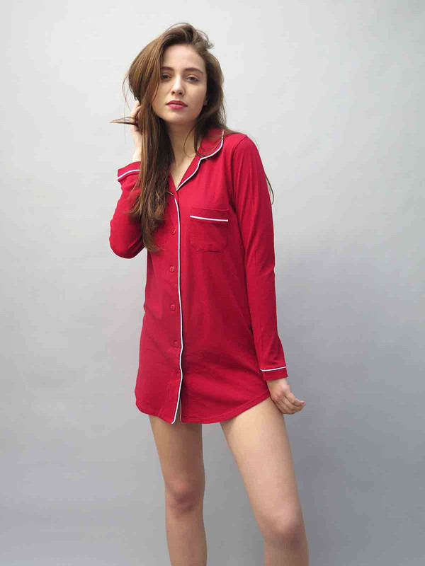 ONLY HEARTS Organic Cotton Nightshirt