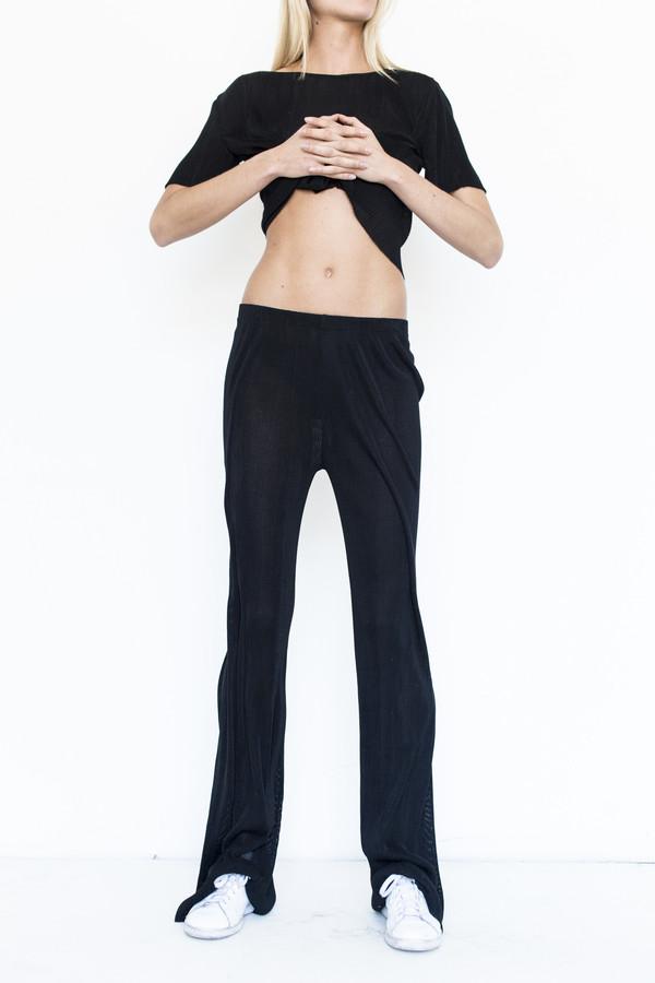 Priscavera Silk Pleated Pant