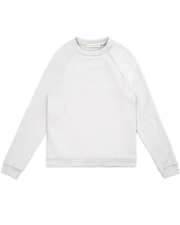 Unisex Play the Bones Raglan Crewneck - Bone