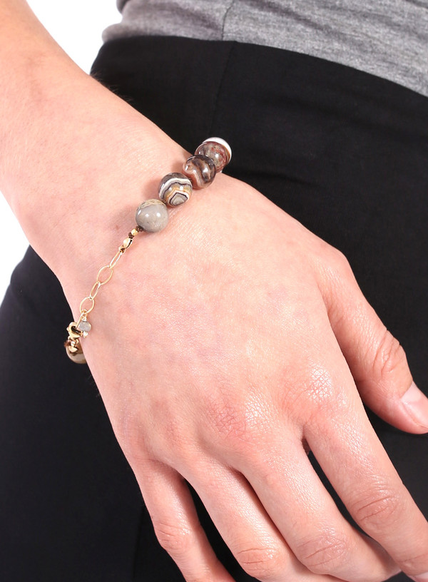 James and Jezebelle Jasper Bracelet