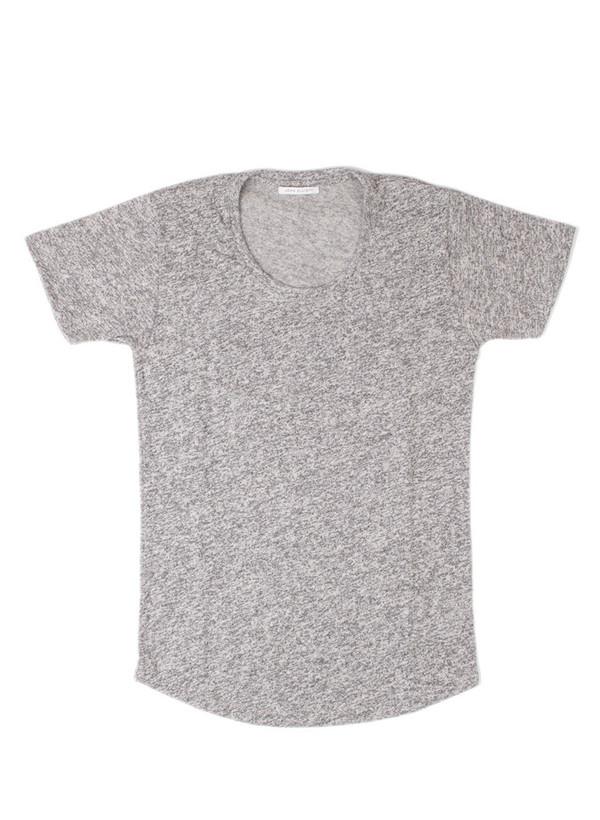 Men's john elliott Curve U-Neck Co-Mix Grey