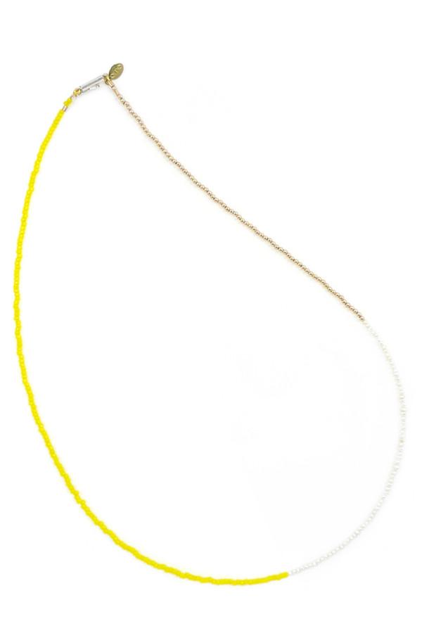 Nektar de Stagni 14K Gold Fill and Pearl Delicate Necklace