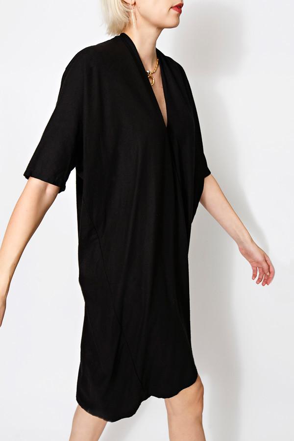 Miranda Bennett Muse Dress, Oversized, Silk Noil