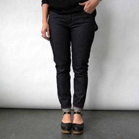 Raleigh Denim Workshop Surry Skinny Jeans in Raw indigo by Raleigh Denim Workshop
