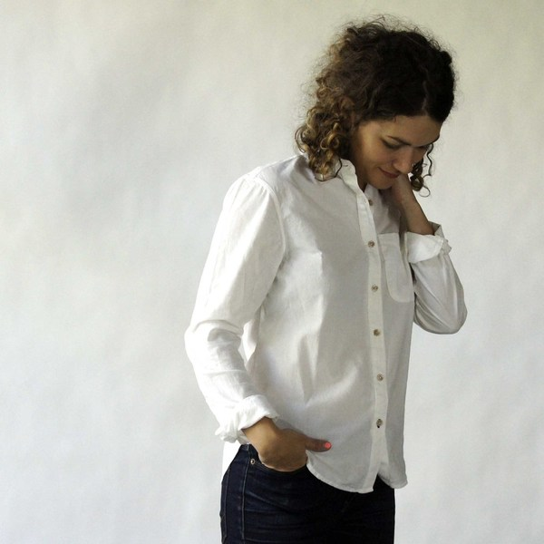 California Tailor Shirt No. 1 in White Point