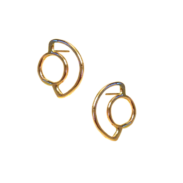 Aoko Su Saturn Rising Earrings