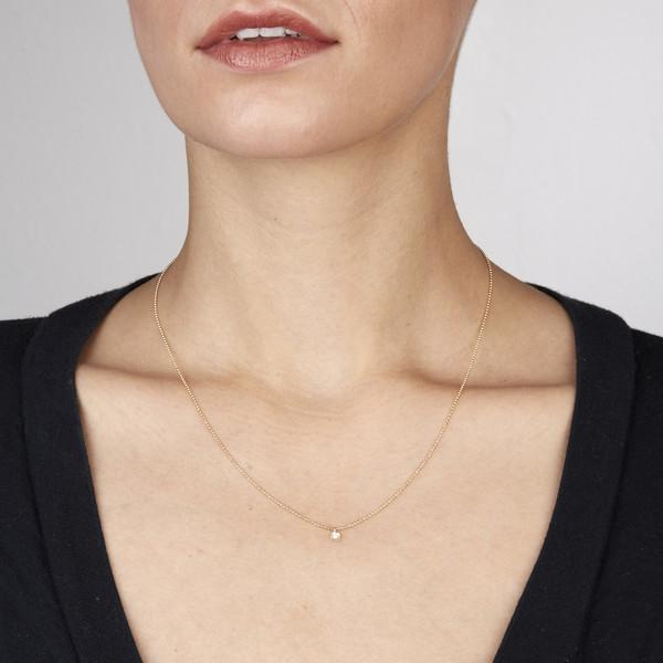 Ariel Gordon 14K Diamond dust necklace