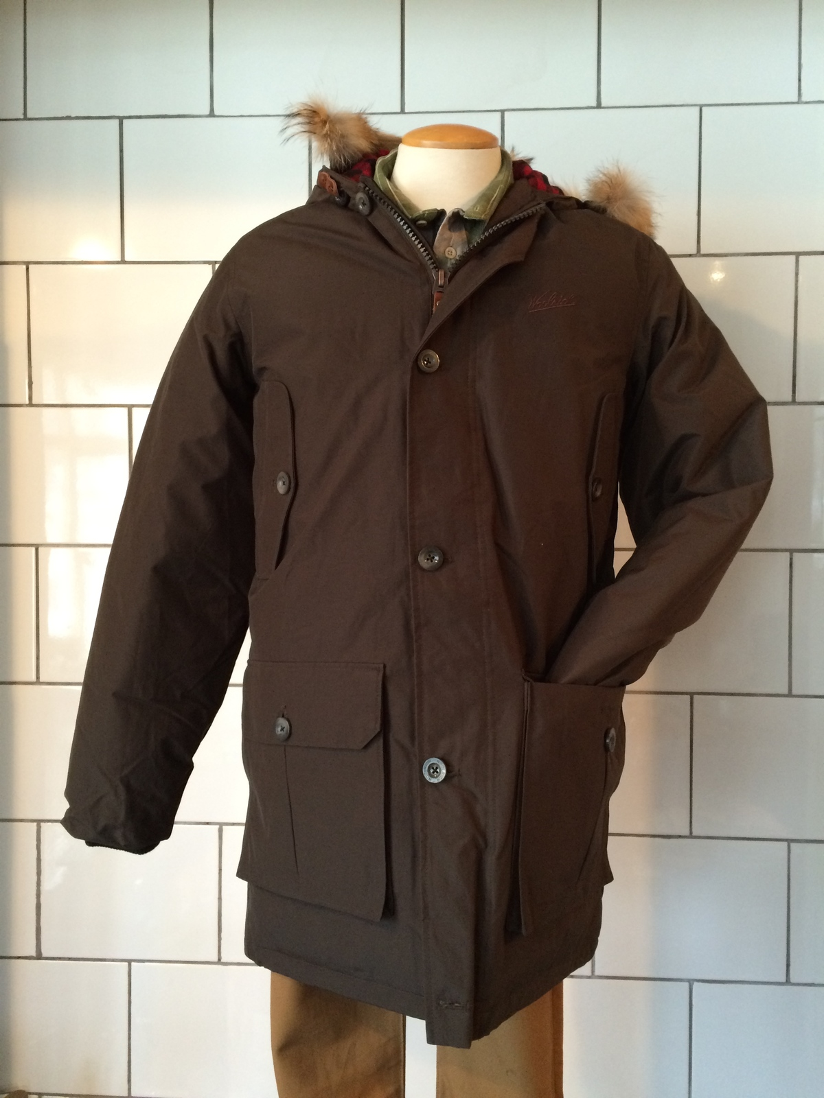 woolrich men 39 s arctic down parka from journeyman company garmentory. Black Bedroom Furniture Sets. Home Design Ideas