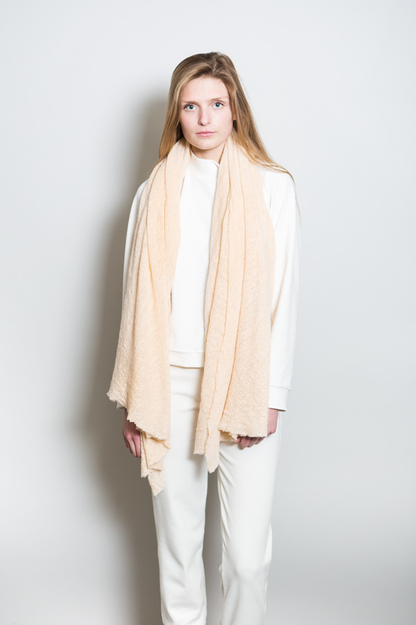 Wool Cloud Scarf / Dune