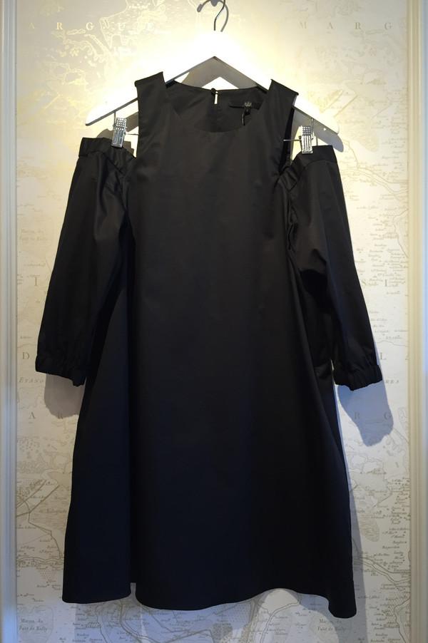 Tibi Poplin cut out dress