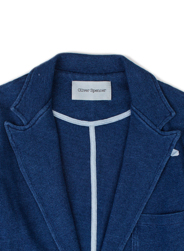 Men's Oliver Spencer Kobe Jacket Indigo