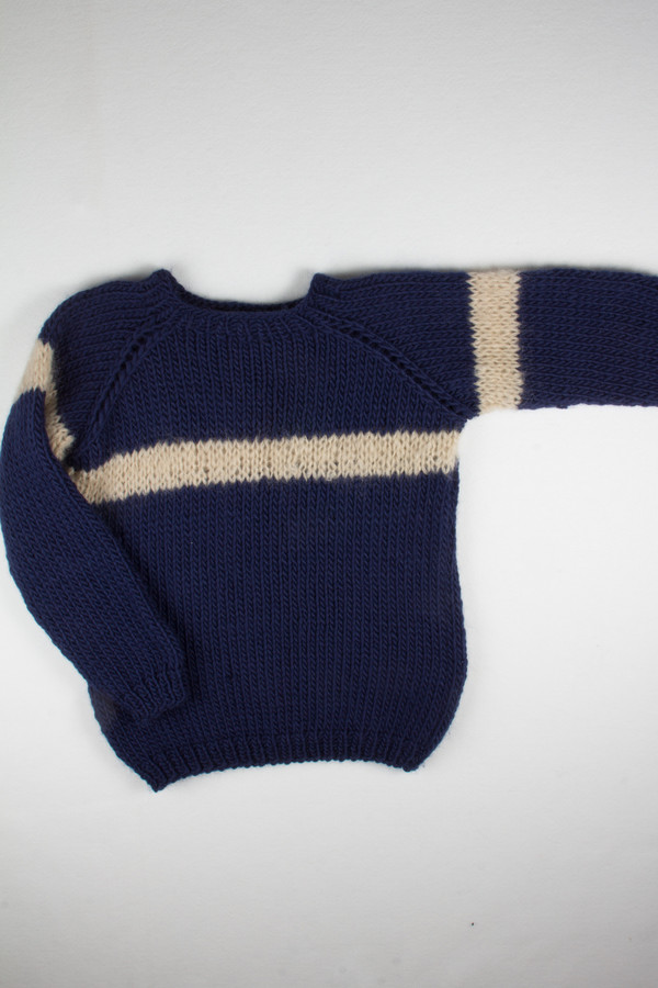 Maiami Wool Striped Sweater