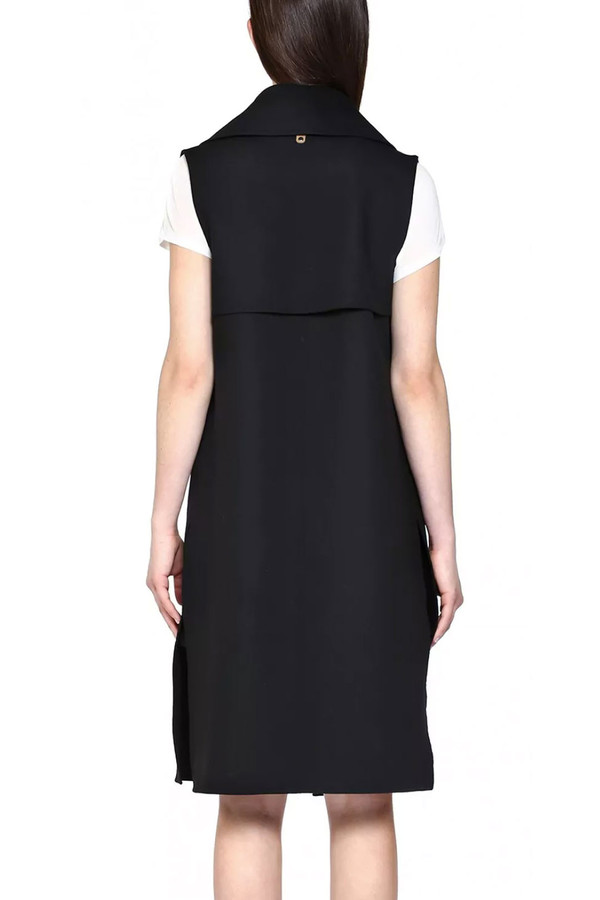 Mackage Tess Sleeveless Wool Vest I Black