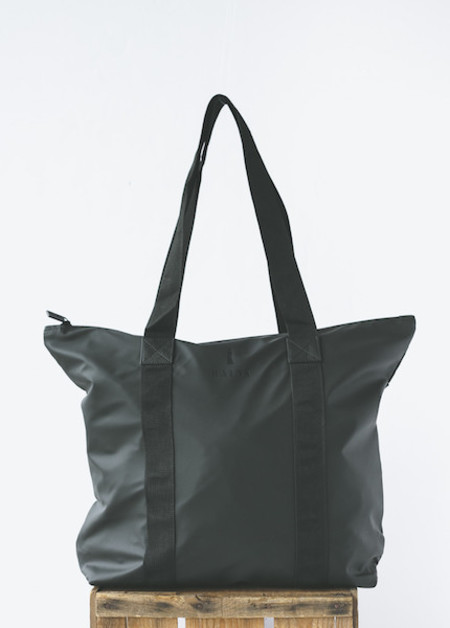 Rains Tote Bag Rush in Black