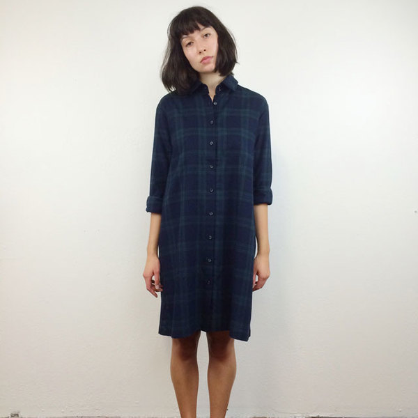 Sleep Shirt Button Down Tunic