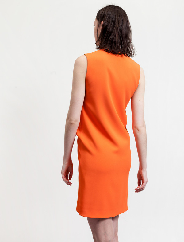 Acne Studios Challa Stretch Crepe Orange