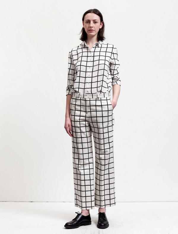 Marimekko Grid Print Trousers