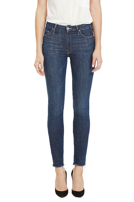 Mother Denim Hi Waisted Ankle Fray | Clean Sweep