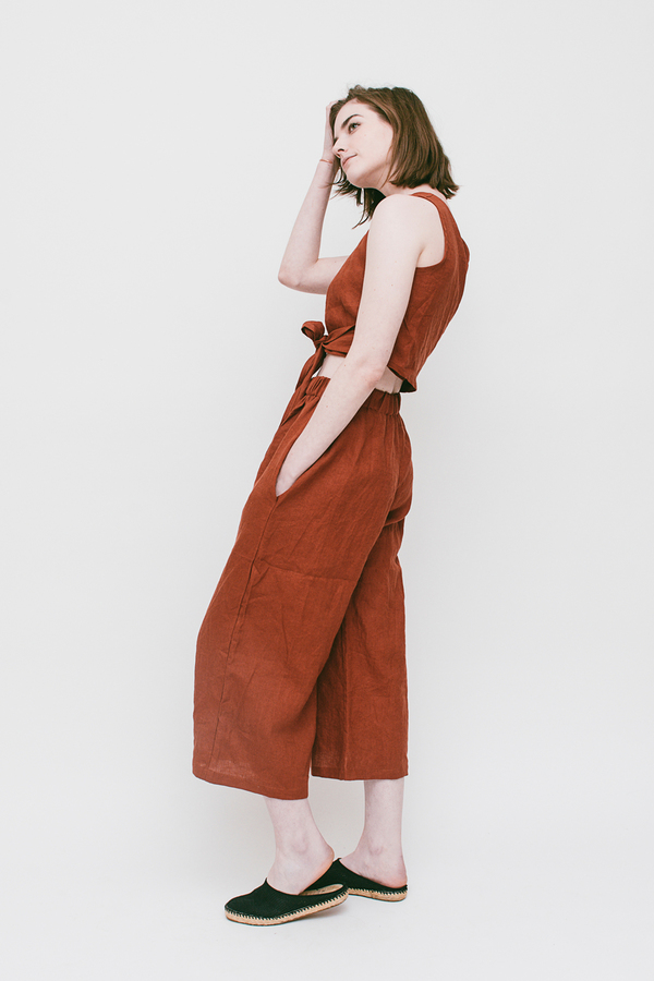 Lauren Winter Wide Pant