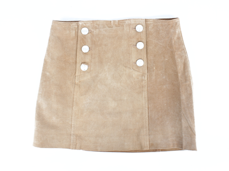Capulet Front Button Mini Skirt