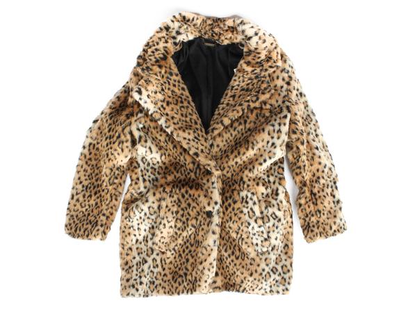 Capulet Leopard Drivers Coat