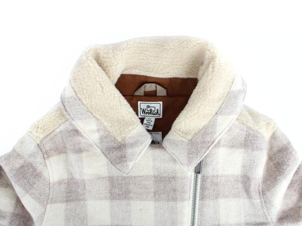Woolrich Mill Wool Sherpa Jacket