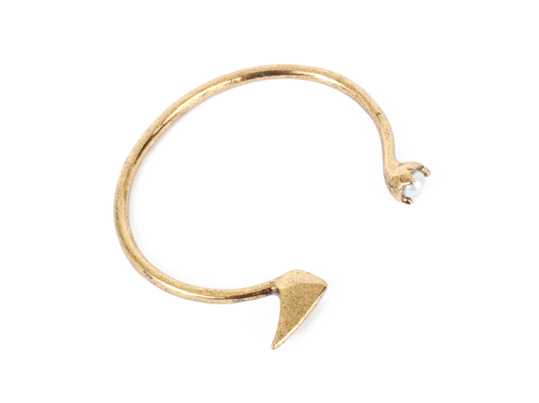 Bones + Feathers Collective Pearl + Fin Cuff
