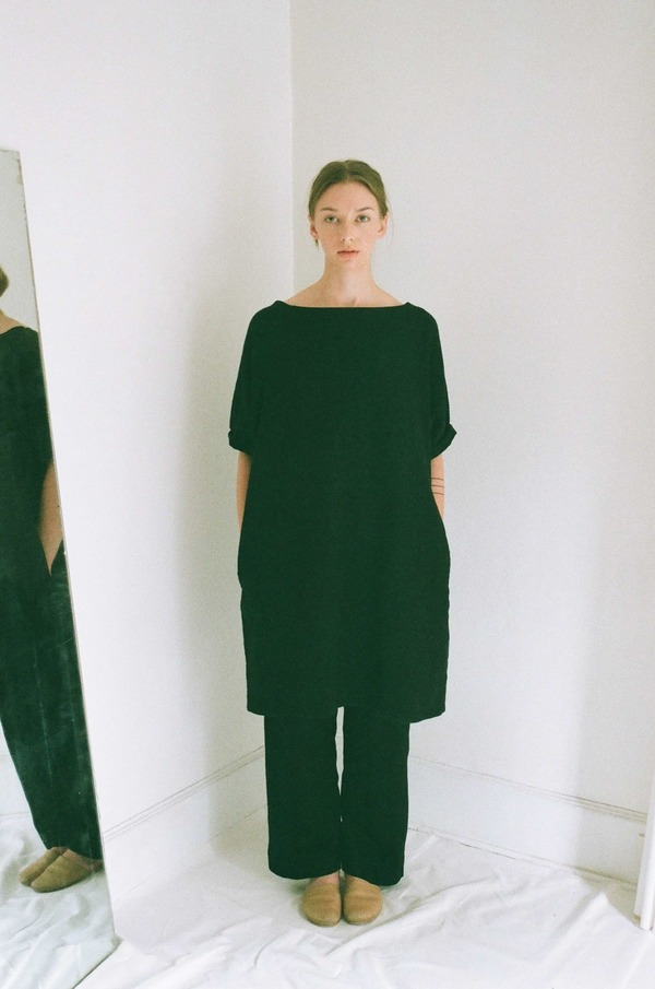 Han Starnes Oversized Dress - Black