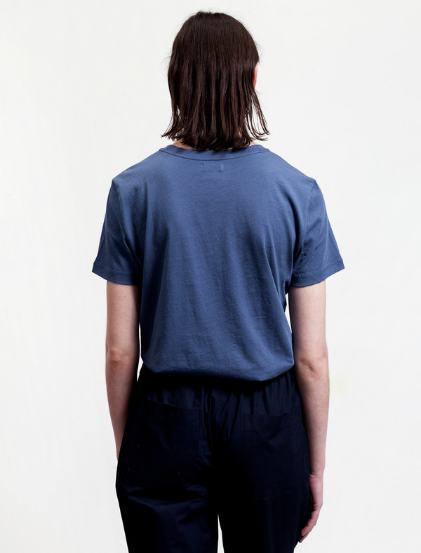Organic by John Patrick Boy Tee French Blue