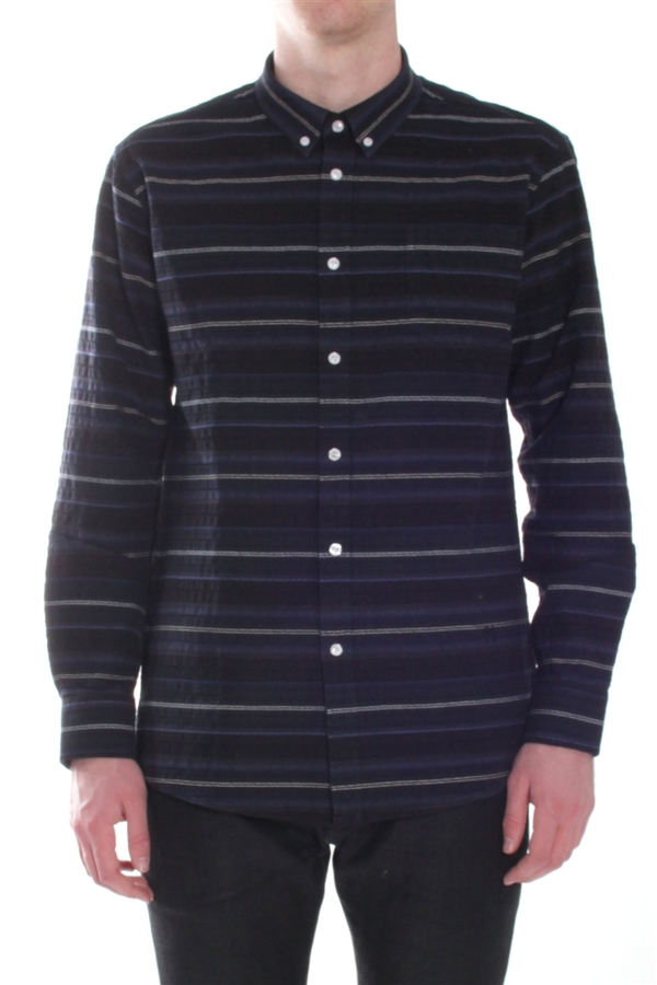Men's Soulland Huttnutt Shirt Navy