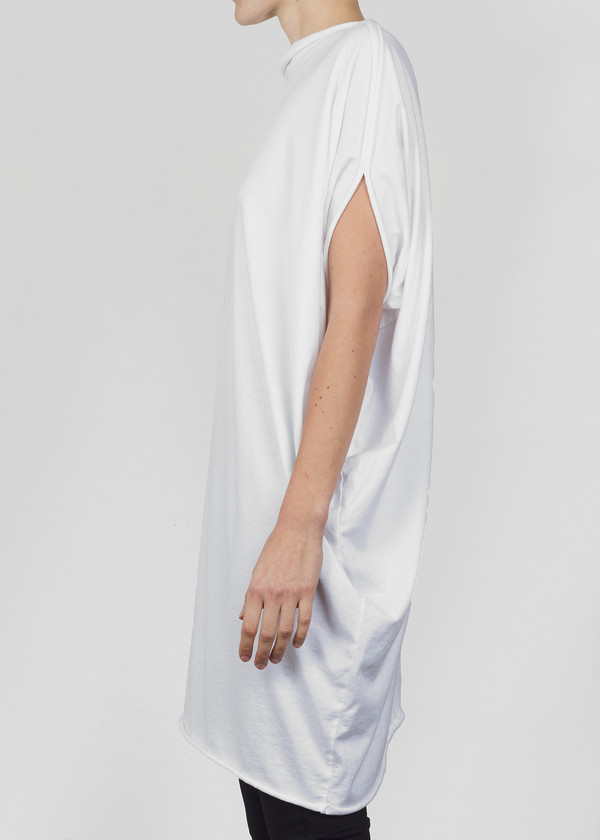 Complexgeometries Drop Tunic - White