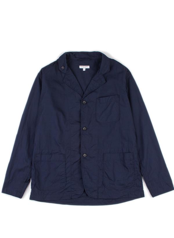 Loiter Jacket Dk Navy Pima Poplin