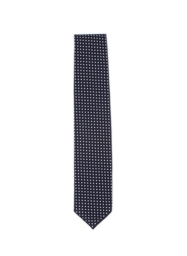 Neck Tie Navy Print Polka Dot