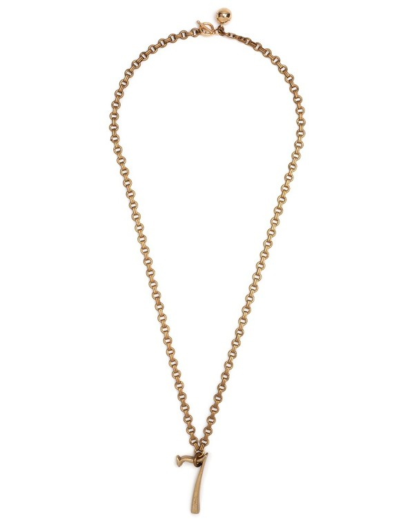 LULU FROST PLAZA NUMBER 7 NECKLACE