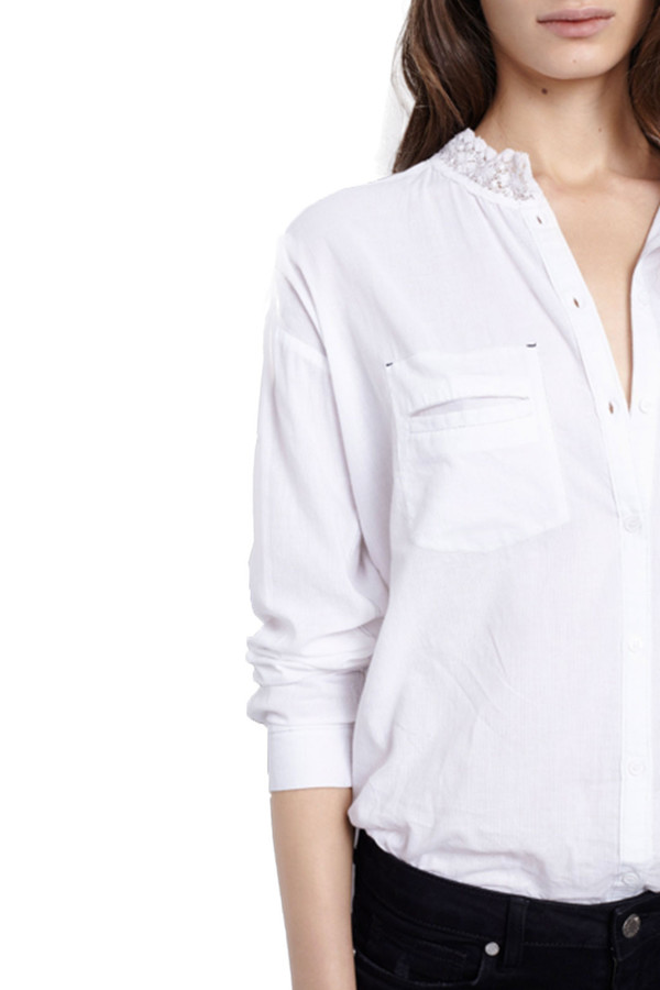 Zadig & Voltaire Turn Blouse I White