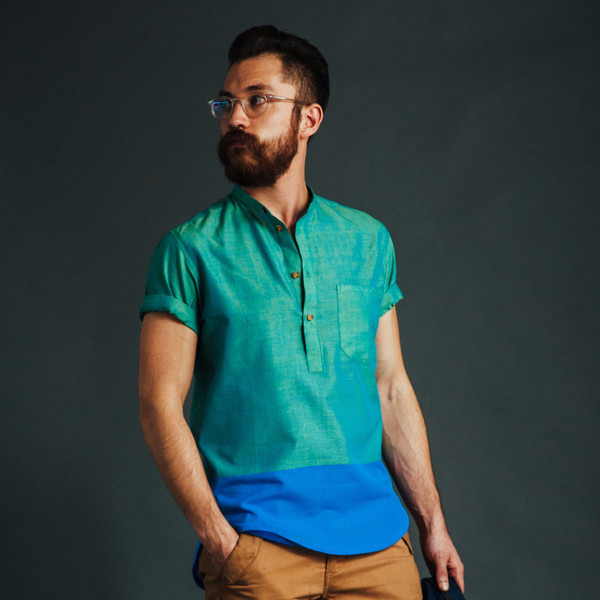 Men's New Market Goods Dhanmondi Popover Shirt