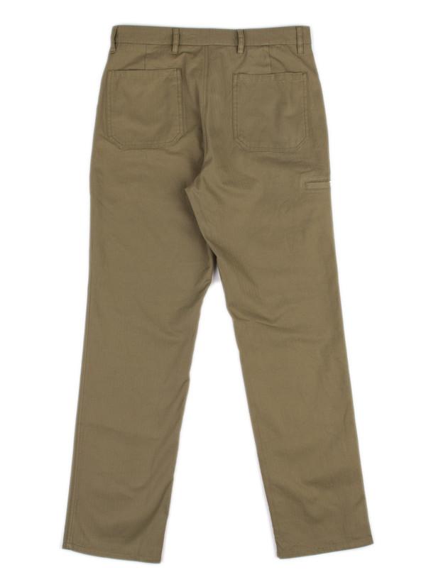 Laurits Herringbone Cargo Pants Dried Olive