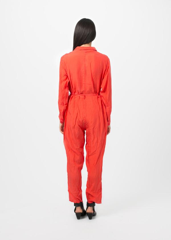 Katharine E Hamnett x YMC Habotai Silk Boilersuit