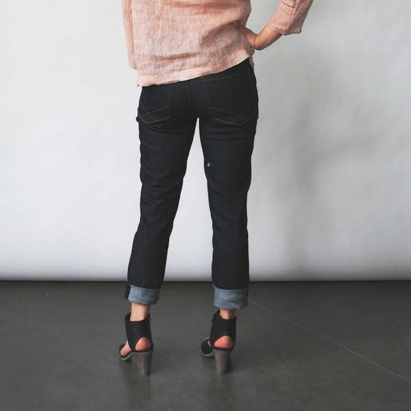 Raleigh Denim Workshop Haywood Skinny Jeans in Raw Indigo