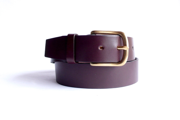 Sara Barner 1.5 in. Belt - Dark Brown