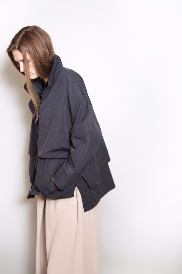 Achro Cropped Trench Jacket