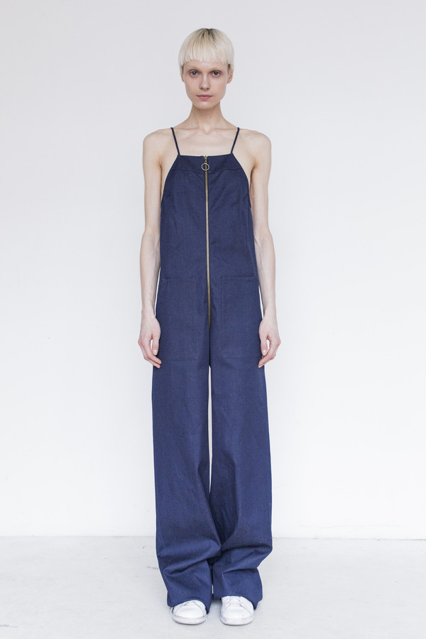 Assembly Cotton Dungarees