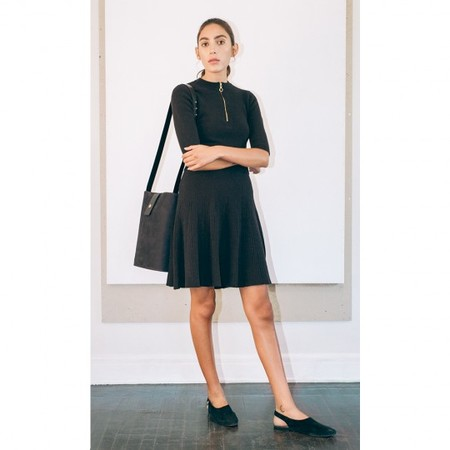 Pari Desai Fiona Flared Skirt Black