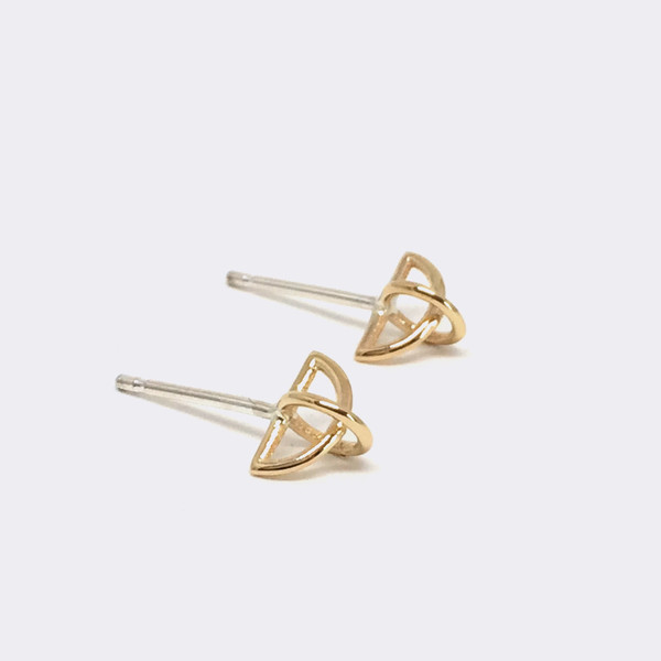 Metalepsis Projects Float Earrings 14kt Gold