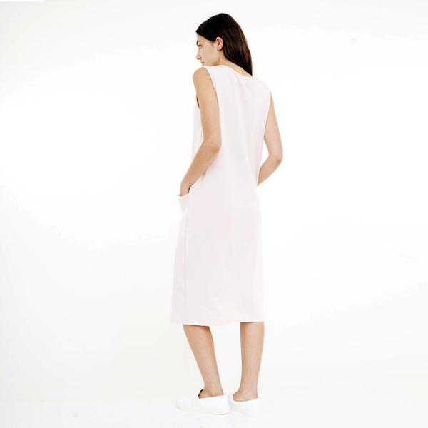 Corinne Pocket dress - blush
