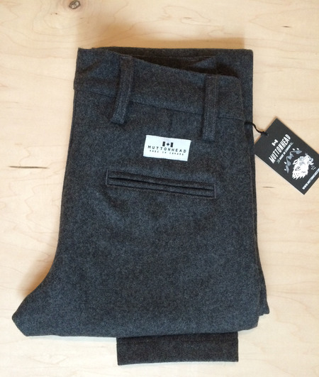 Unisex Muttonhead WOOL TROUSERS