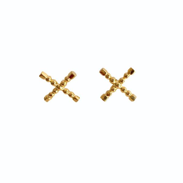 Sophie Blake NY X Earrings