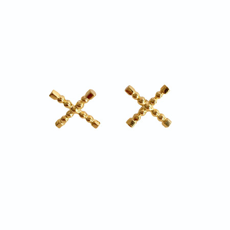 Sophie Blake NY X Earrings