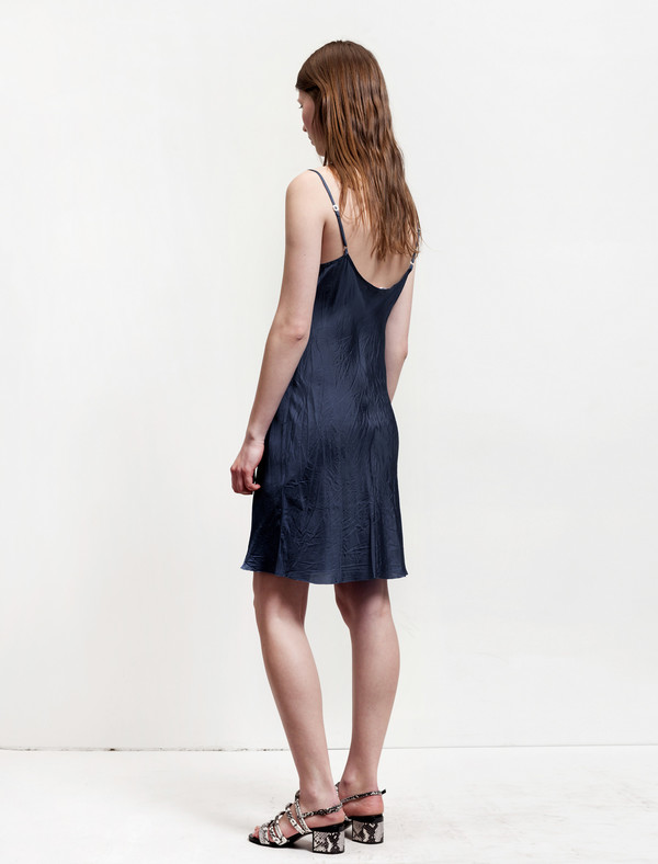 Organic by John Patrick Bias Slip French Blue